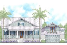 Dream House Plan - Cottage Exterior - Front Elevation Plan #938-87