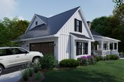 Farmhouse Style House Plan - 4 Beds 3 Baths 2192 Sq/Ft Plan #120-263 Exterior - Other Elevation