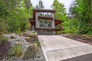 Contemporary Style House Plan - 3 Beds 3 Baths 2287 Sq/Ft Plan #1070-7 Exterior - Front Elevation