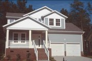 Craftsman Style House Plan - 4 Beds 3 Baths 2164 Sq/Ft Plan #20-1235 Exterior - Other Elevation