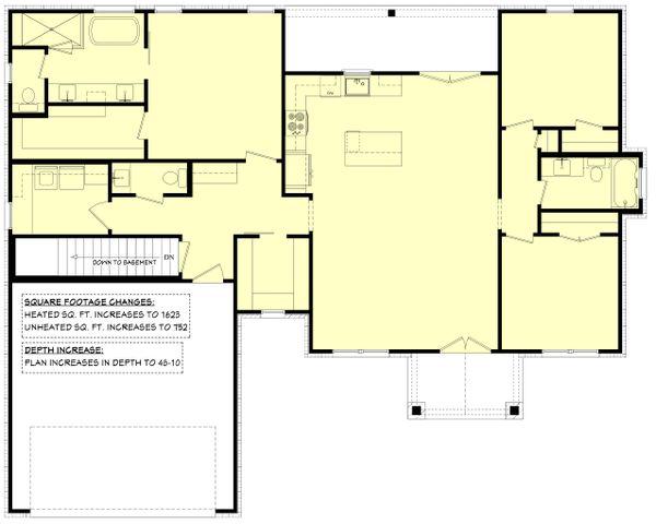 Farmhouse Floor Plan - Other Floor Plan #430-246