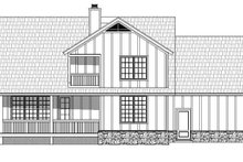 House Plan Design - Country Exterior - Rear Elevation Plan #932-261