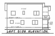 Contemporary Style House Plan - 3 Beds 2.5 Baths 1406 Sq/Ft Plan #20-2320 Exterior - Other Elevation