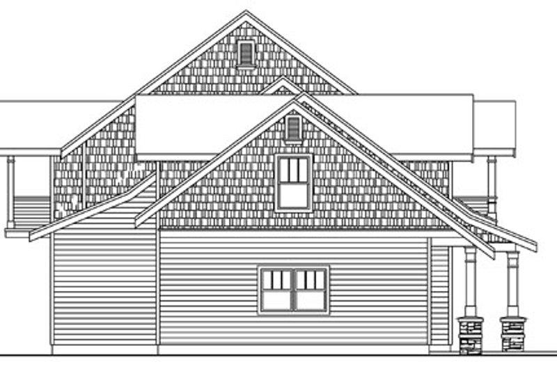 Craftsman Exterior - Other Elevation Plan #124-761 - Houseplans.com