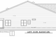 House Blueprint - Traditional Exterior - Other Elevation Plan #20-2425