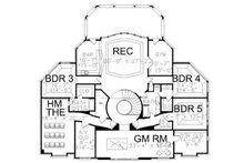Colonial Floor Plan - Upper Floor Plan Plan #119-311