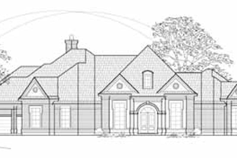 European Exterior - Front Elevation Plan #61-251 - Houseplans.com