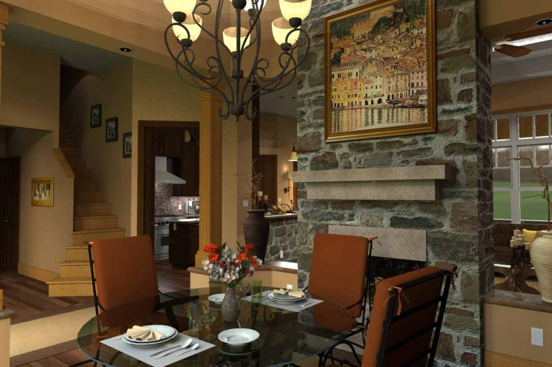 Craftsman Interior - Dining Room Plan #120-162 - Houseplans.com