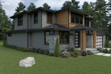 Dream House Plan - Contemporary Exterior - Other Elevation Plan #1070-18