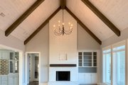 Craftsman Style House Plan - 4 Beds 4.5 Baths 5810 Sq/Ft Plan #437-96 Interior - Family Room
