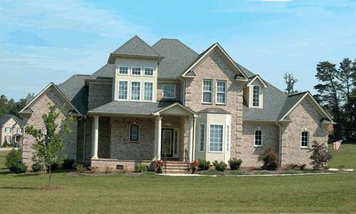 European Exterior - Front Elevation Plan #20-967 - Houseplans.com