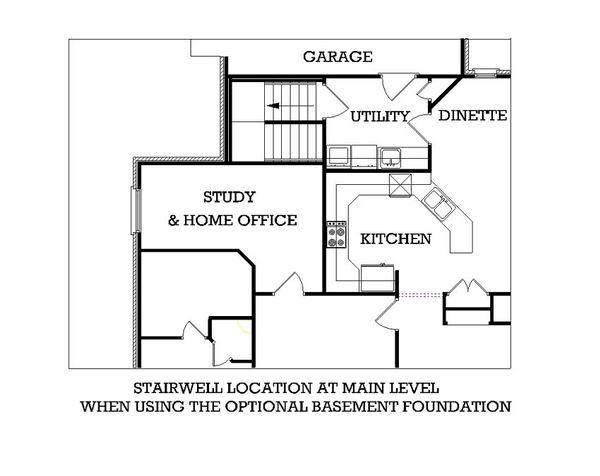 Southern Floor Plan - Other Floor Plan Plan #45-230
