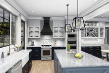 Cottage Interior - Kitchen Plan #406-9656