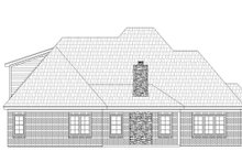 Country Exterior - Rear Elevation Plan #932-277