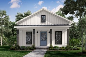 Farmhouse Exterior - Front Elevation Plan #430-257