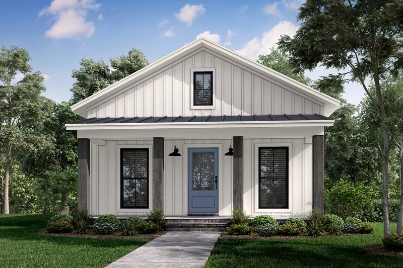 Home Plan - Farmhouse Exterior - Front Elevation Plan #430-257