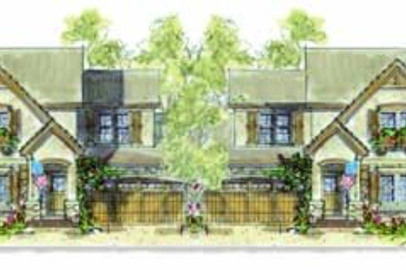 Dream House Plan - European Exterior - Front Elevation Plan #20-1349