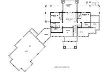 Ranch Floor Plan - Lower Floor Plan Plan #895-29