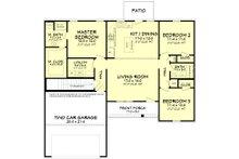 Ranch Floor Plan - Other Floor Plan Plan #430-181