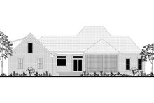 Country Exterior - Rear Elevation Plan #430-171