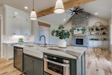 Home Plan - Plan 1067-1 Kitchen Island