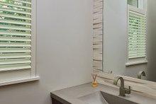 Architectural House Design - Powder Room