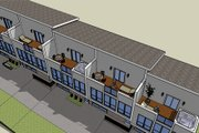 Modern Style House Plan - 2 Beds 2 Baths 5850 Sq/Ft Plan #448-1 Exterior - Other Elevation