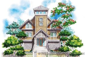 Country Exterior - Front Elevation Plan #930-63