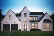 Modern Style House Plan - 5 Beds 4.5 Baths 2966 Sq/Ft Plan #1058-175 Exterior - Front Elevation