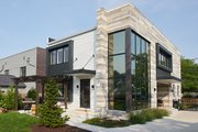 Contemporary Style House Plan - 3 Beds 2.5 Baths 2368 Sq/Ft Plan #928-296 Exterior - Other Elevation