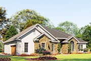 Craftsman Style House Plan - 4 Beds 3 Baths 1989 Sq/Ft Plan #923-156 Exterior - Other Elevation