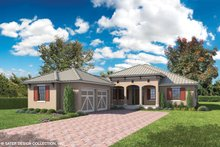 Country Exterior - Front Elevation Plan #930-466