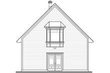 House Plan Design - Traditional Exterior - Rear Elevation Plan #23-443