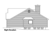 House Plan Design - Traditional Exterior - Other Elevation Plan #22-418