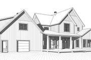 Farmhouse Style House Plan - 4 Beds 3.5 Baths 3532 Sq/Ft Plan #23-2687 Exterior - Rear Elevation