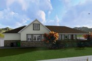 Ranch Style House Plan - 2 Beds 2 Baths 1767 Sq/Ft Plan #1060-2