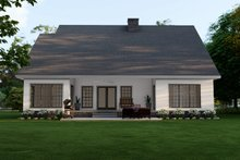 House Plan Design - Traditional Exterior - Rear Elevation Plan #17-2779