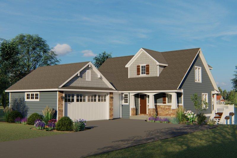 Home Plan - Beach Exterior - Front Elevation Plan #1064-27