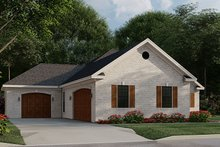House Design - Traditional Exterior - Other Elevation Plan #923-182