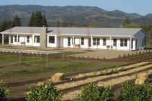 House Plan Design - Ranch Exterior - Front Elevation Plan #888-8