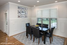 Dream House Plan - Traditional Interior - Dining Room Plan #929-924