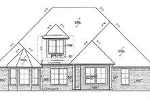 Dream House Plan - European Exterior - Rear Elevation Plan #310-984