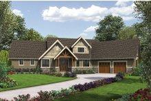 Dream House Plan - Craftsman Exterior - Front Elevation Plan #48-655