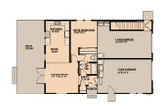 Traditional Style House Plan - 4 Beds 3 Baths 1988 Sq/Ft Plan #515-7 Floor Plan - Main Floor Plan