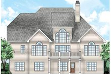 Dream House Plan - Traditional Exterior - Rear Elevation Plan #927-33