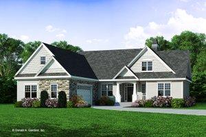 Craftsman Exterior - Front Elevation Plan #929-446