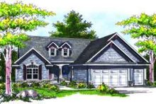 Dream House Plan - Traditional Exterior - Front Elevation Plan #70-728