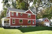 Farmhouse Style House Plan - 3 Beds 2.5 Baths 2063 Sq/Ft Plan #901-136 Exterior - Other Elevation