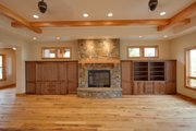 Craftsman Style House Plan - 4 Beds 3.5 Baths 4197 Sq/Ft Plan #124-913 Photo