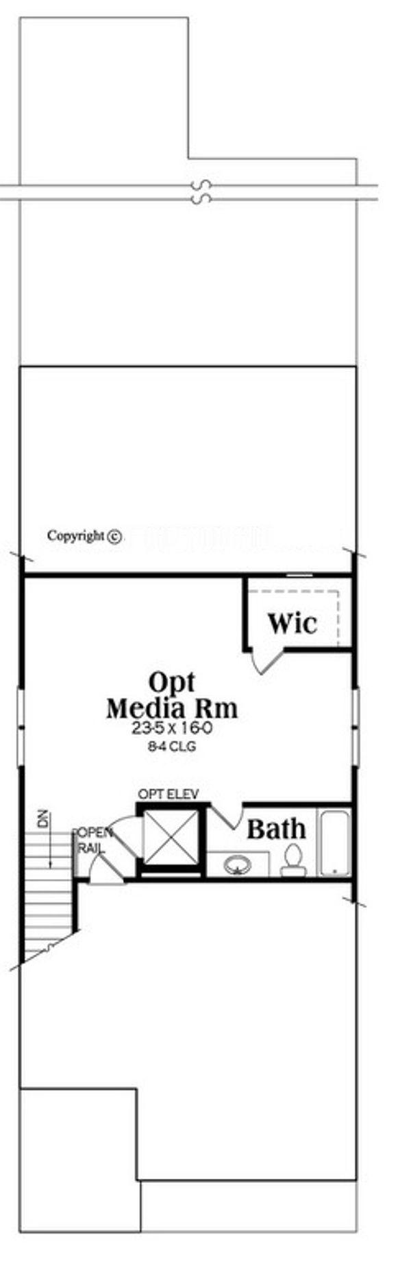 Traditional Floor Plan - Other Floor Plan #419-292